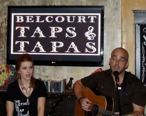 Jesse Lee and Johnny Bulford at Tin Pan South